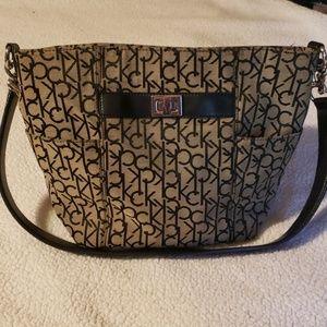 Calvin Klein signature purse